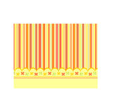 Sunny orange baby background Royalty Free Stock Photos