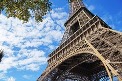 Sunny Paris Fotografía de archivo libre de regalías