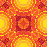 Sunny pattern seamless. Seamless pattern sunny for towels, bedding, etc Stock Images