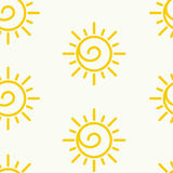 Sunny Pattern Royalty Free Stock Photography