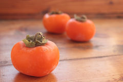 Sunny persimmon Royalty Free Stock Images