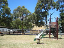 Sunny playground Stock Images