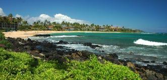 Sunny Poipu, Kauai Stock Images
