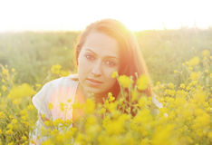 Sunny portrait Royalty Free Stock Image