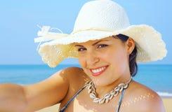Sunny portrait Royalty Free Stock Photo