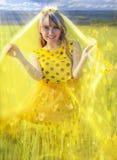 Sunny Princess Royaltyfri Fotografi