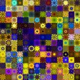 Sunny rag pattern Stock Image
