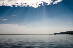 Sunny rays Stock Image