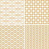 Sunny retro pattern Stock Photography