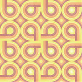Sunny Retro Pattern (weave) Stock Image