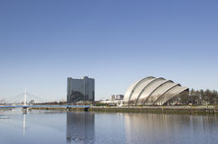 Sunny River Clyde showing armadillo royalty free stock photography