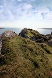 Sunny rocky kerry headland view Stock Image