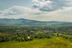 Sunny rural landscape Stock Images