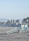 Sunny Santa Monica Royalty Free Stock Photography