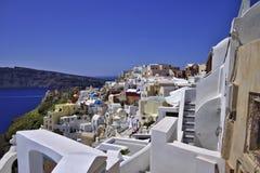 Sunny Santorini Foto de Stock Royalty Free