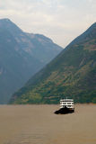 Sunny scenery along the Yangtze River in China Stock Images
