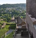 Sunny scenery around Wertheim Castle Royalty Free Stock Image