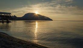 Sunny sea Stock Photography