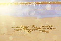 Sunny sea shore Stock Photo