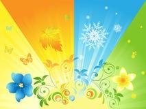Sunny seasons Stock Photo
