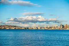 Sunny Seattle Skyline Royalty Free Stock Photo