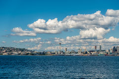Sunny Seattle Skyline 2 Stock Photo