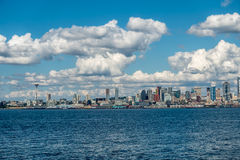 Sunny Seattle Skyline 3 Royalty Free Stock Photos
