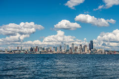 Sunny Seattle Skyline 5 Stock Images