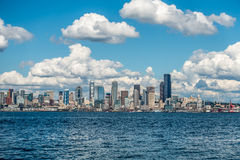 Sunny Seattle Skyline 6 Royalty Free Stock Photos
