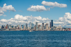 Sunny Seattle Skyline 7 Royalty Free Stock Photography