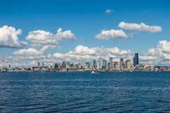 Sunny Seattle Skyline 8 Stock Image