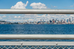 Sunny Seattle Skyline 9 Stock Images