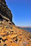 sunny shore zdjęcia royalty free