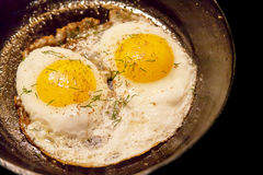 Sunny side up Royalty Free Stock Photography