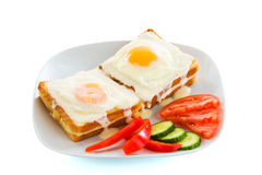 Sunny-side up Stock Images
