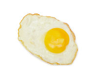 Sunny side up, isolated Royalty Free Stock Photography