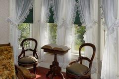 Sunny Sitting Room Arkivfoto
