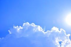 Sunny sky. Fresh and beautiful sunny blue sky Royalty Free Stock Photos