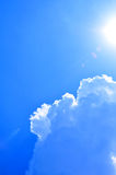 Sunny sky Stock Photography