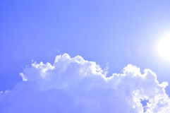 Sunny sky Royalty Free Stock Images