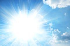 Sunny sky Royalty Free Stock Image