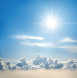 Sunny Sky Royalty Free Stock Photography