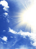 Sunny sky Royalty Free Stock Photos