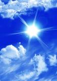 Sunny sky background royalty free stock image