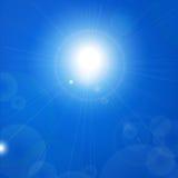 Sunny sky background Royalty Free Stock Photo