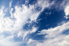 Sunny sky background. Royalty Free Stock Images