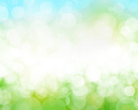 Sunny sky blurred bokeh background Royalty Free Stock Image