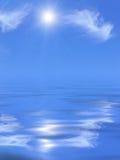 Sunny sky and sea. Stock Image