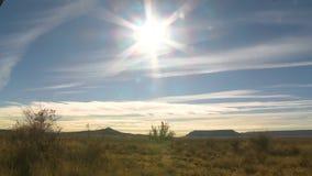 Sunny Sky-tijd-Tijdspanne stock video