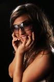 Sunny smile Stock Image